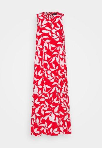 NECK MIDI DRESS - Maxi dress - red