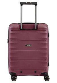 Titan - HIGHLIGHT  - Wheeled suitcase - merlot - 1