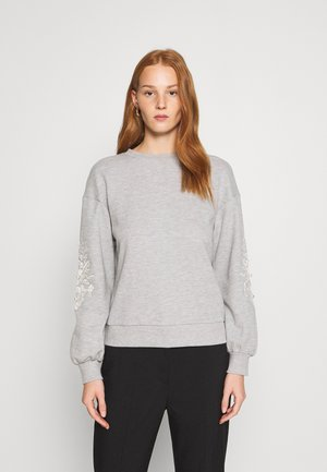 SLEEVE SWEAT - Felpa - grey