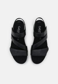 Gabor Comfort - Sandalen met plateauzool - schwarz - 5