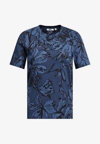 WE Fashion - MET BLOEMENDESSIN - Print T-shirt - blue - 5