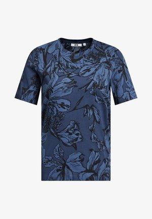 MET BLOEMENDESSIN - Print T-shirt - blue
