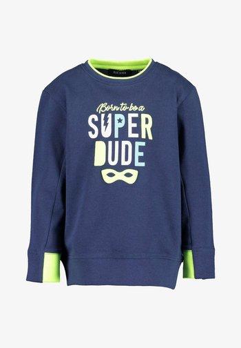 COLORS UP - Sweatshirt - dark blau