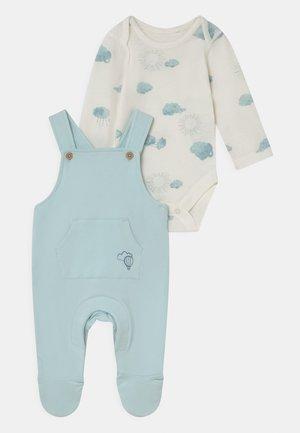 BABY DUNGAREE SET - Peto - blue mix