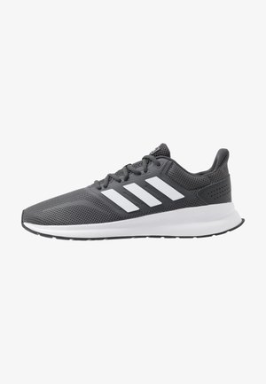 RUNFALCON - Laufschuh Neutral - grey six/footwear white/core black