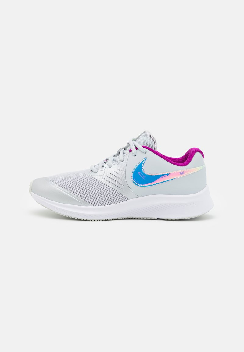Nike Performance - STAR RUNNER 2 POWER UNISEX - Neutral running shoes - grey
