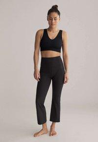 OYSHO - Trousers - black - 1