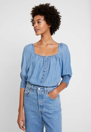 VINCACR - Blouse - blue denim