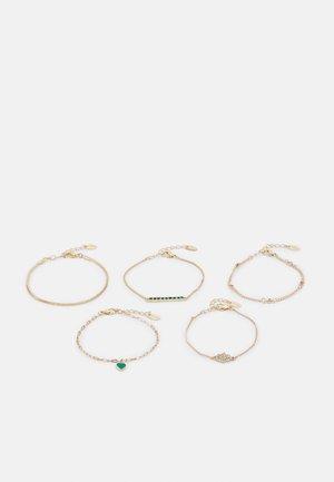 5 PACK - Bracelet - gold-coloured