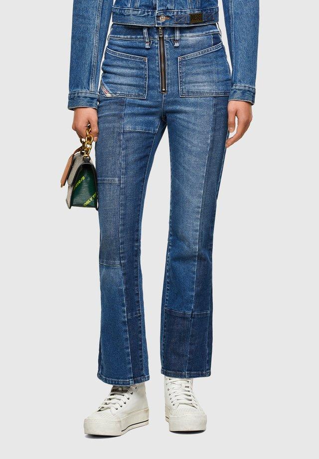 D-EARLIE  - Jeans bootcut - medium blue