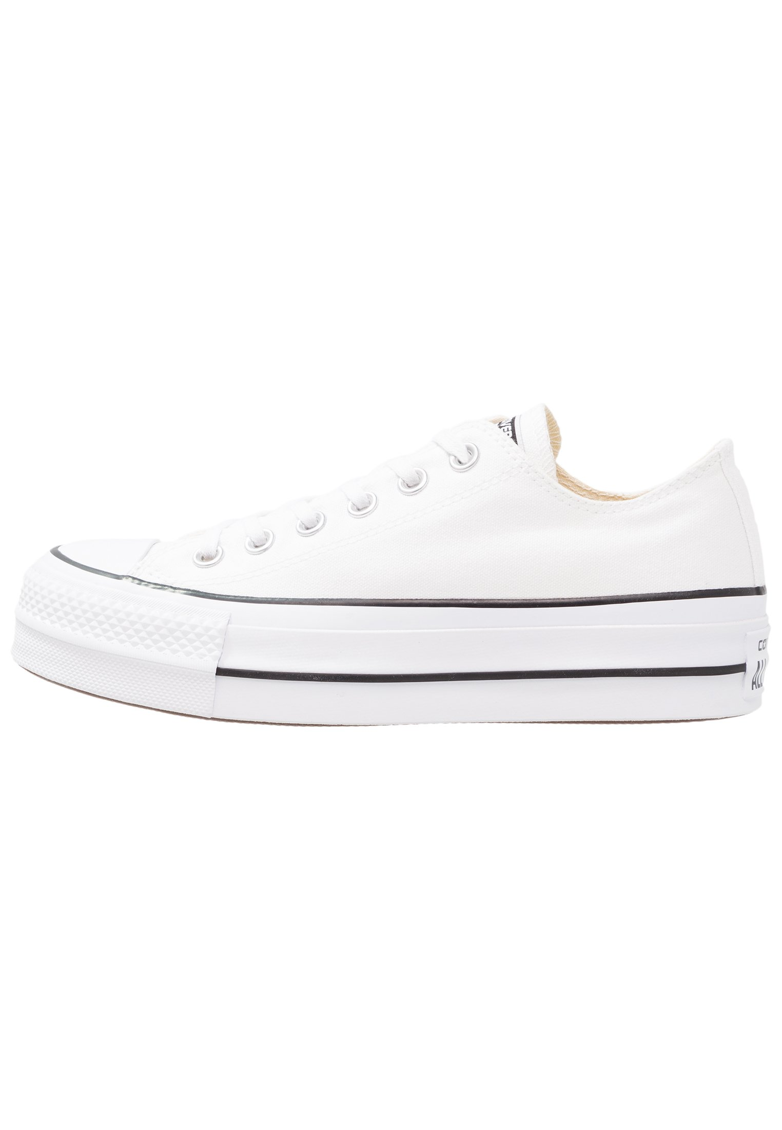 Converse Chuck Taylor All Star Lift - Sneaker Low White/garnet/navy/weiß