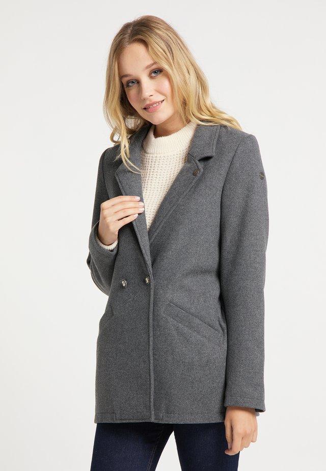 Manteau court - grau melange
