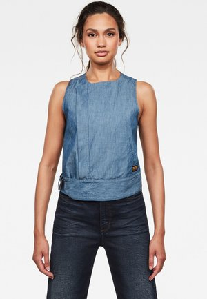 WRAP TOP SLEEVELESS - Top - rinsed