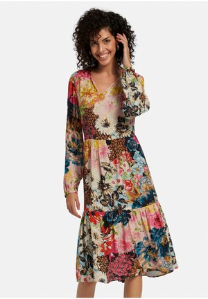 Korte jurk - hellblau/multicolor