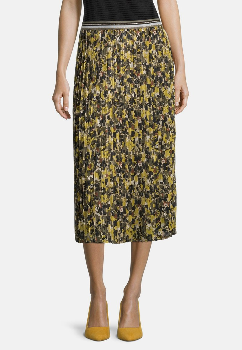 Betty Barclay - Pleated skirt - grün/schwarz
