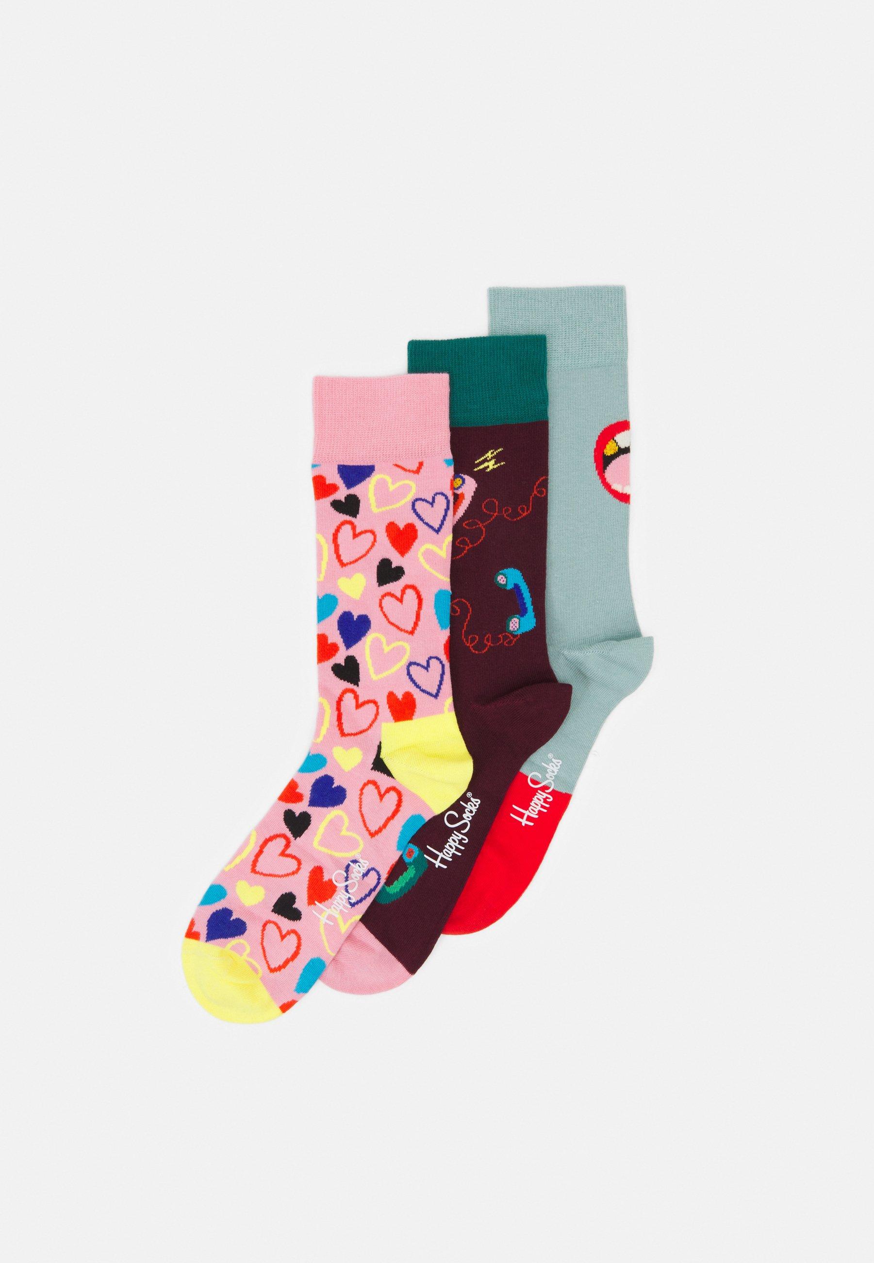 Women SINGLE READY TO MINGLE 3 PACK UNISEX - Socks