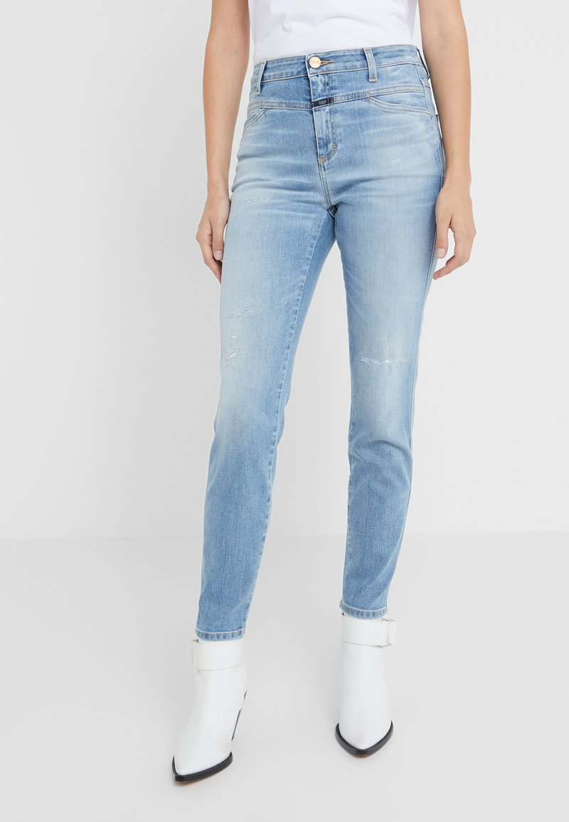 CLOSED - SKINNY PUSHER - Jeans Skinny Fit - mid blue