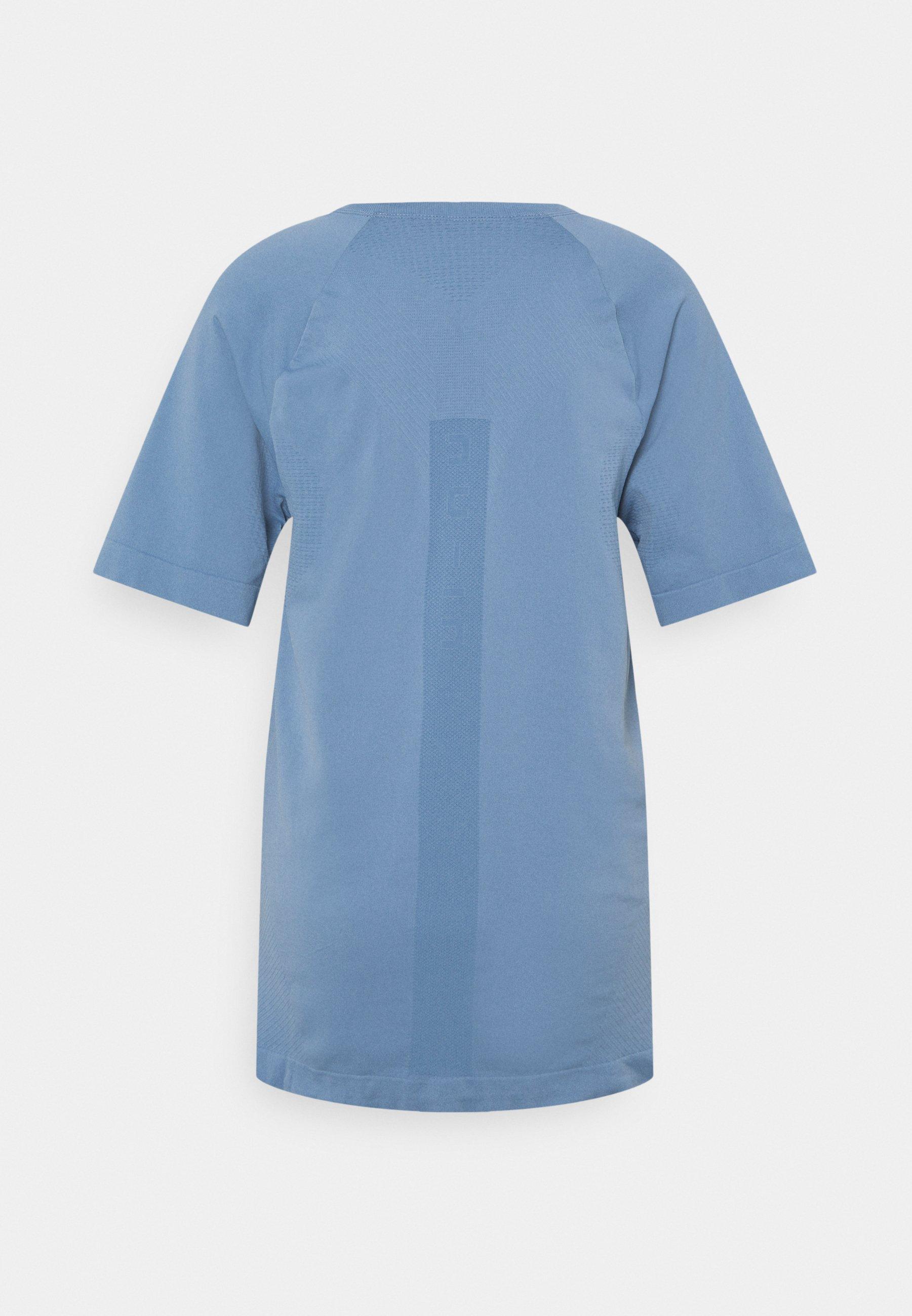 Nu-in Short Sleeve Training - T-shirt Basic Blue