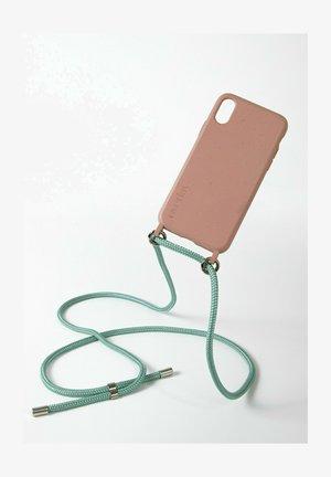 IPHONE 12 MINI - BIOLOGISCH ABBAUBAR - ROSE MINT HANDYKETTE - Phone case - türkis