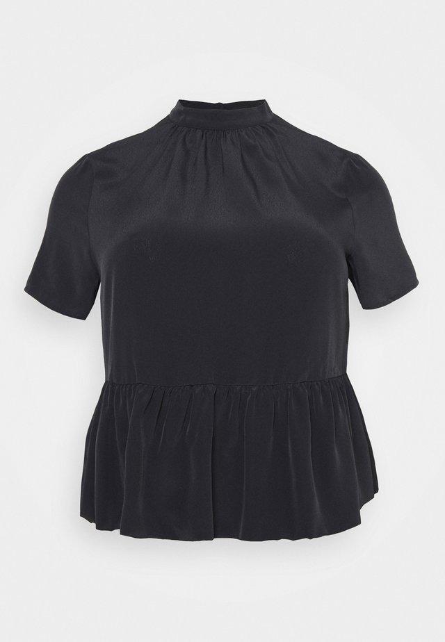 VMBRISA - T-shirt z nadrukiem - black