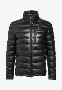 Blauer - Leather jacket - black - 4