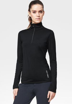 MARGO - Long sleeved top - black