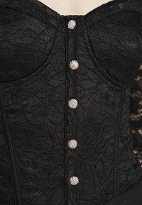New Look - CARLEY DIAMANTE DETAIL - Blouse - black - 5