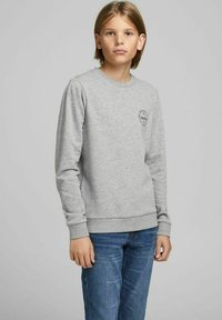 Jack & Jones Junior - Sweatshirt - light grey melange - 1