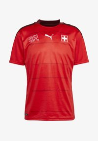 SCHWEIZ SFV HOME REPLICA - Club wear - red/pomegranate