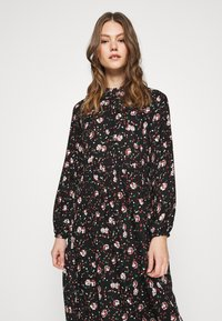 Vero Moda - VMFLORA MAXI DRESS - Maxi dress - black - 4