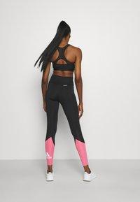 adidas Performance - Tights - black/rose tone/white - 2