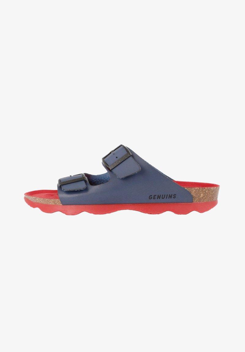 Genuins - HAWAII VACHETTA - Sandals - navy