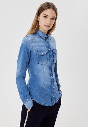 Košile - light-blue denim