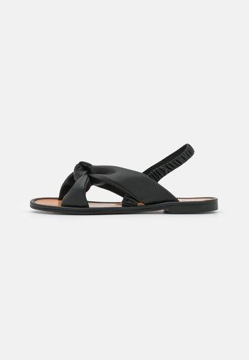 BOWE - Sandals - black