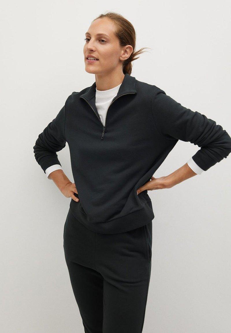 Mango - RIVI-A - Sweatshirt - šedá antracit