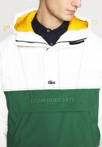 Lacoste LIVE - BH1134_X0N - Light jacket - flour/green - 5