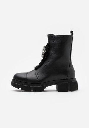 ELENA  - Platform ankle boots - nero