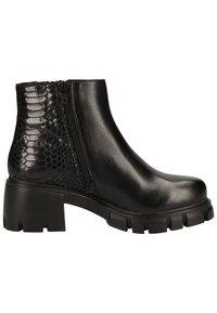 Steve Madden - Platform ankle boots - black snake 967 - 5