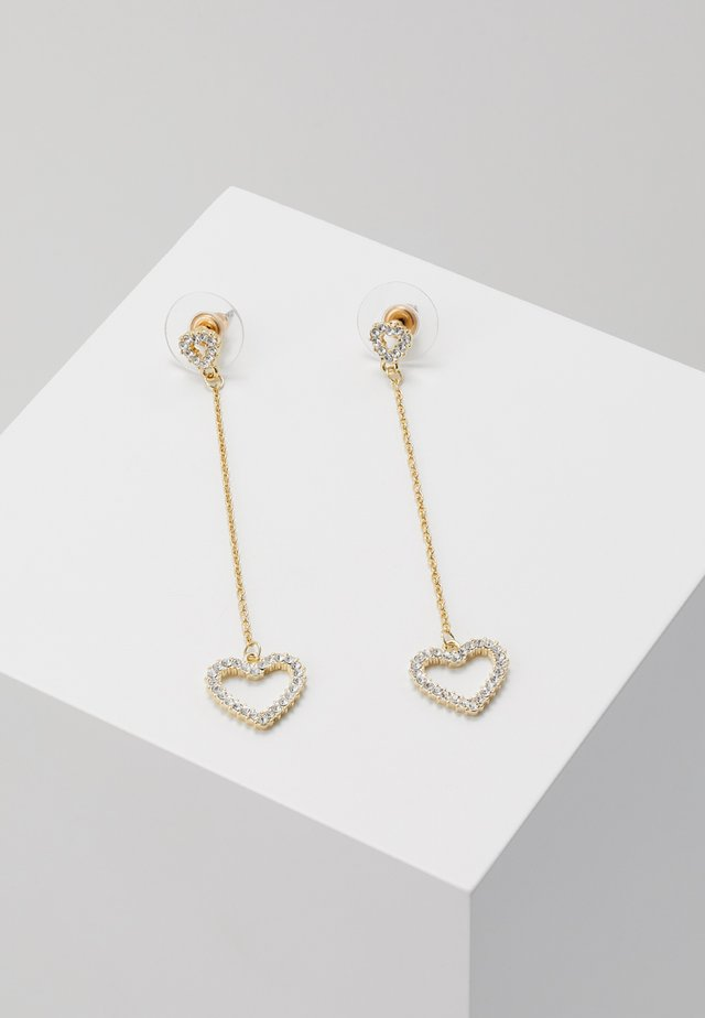 HEART LONG  - Korvakorut - gold-coloured