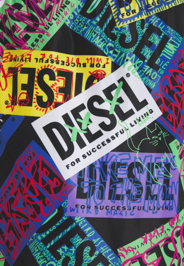 Diesel BMBX-WAVE - Szorty kąpielowe - multicolour/wielokolorowy Odzież Męska AFHE