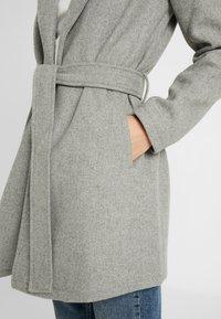 Springfield - ABRIGO PAÑO CINTURON - Short coat - grey - 4
