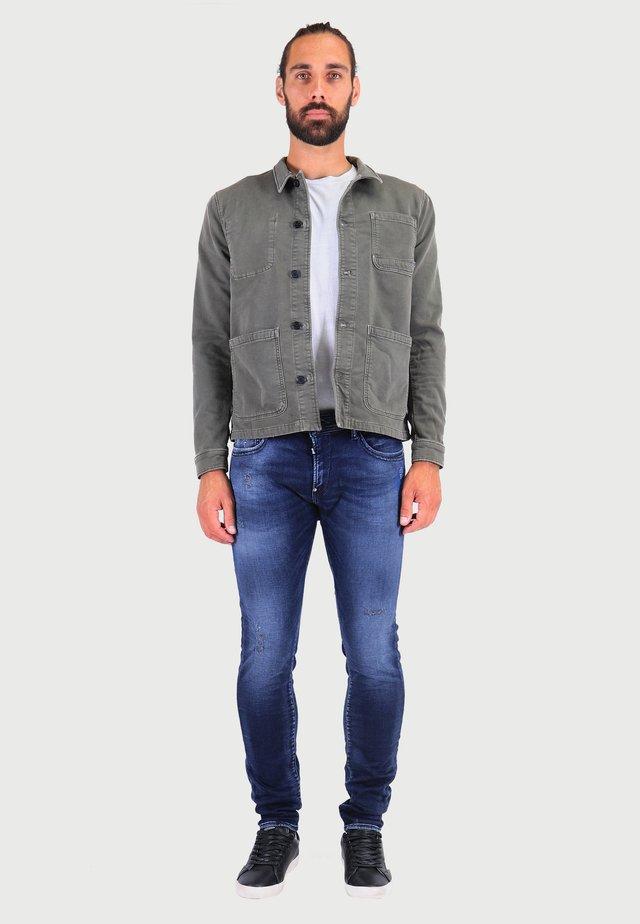 Slim fit jeans - blue / grey