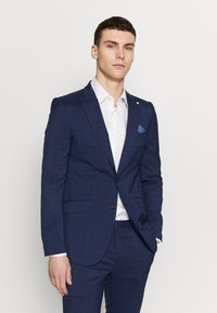 Burton Menswear London - HIGHLIGHT CHECK - Suit jacket - navy - 0
