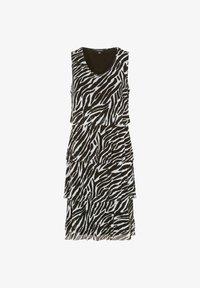 black zebra print
