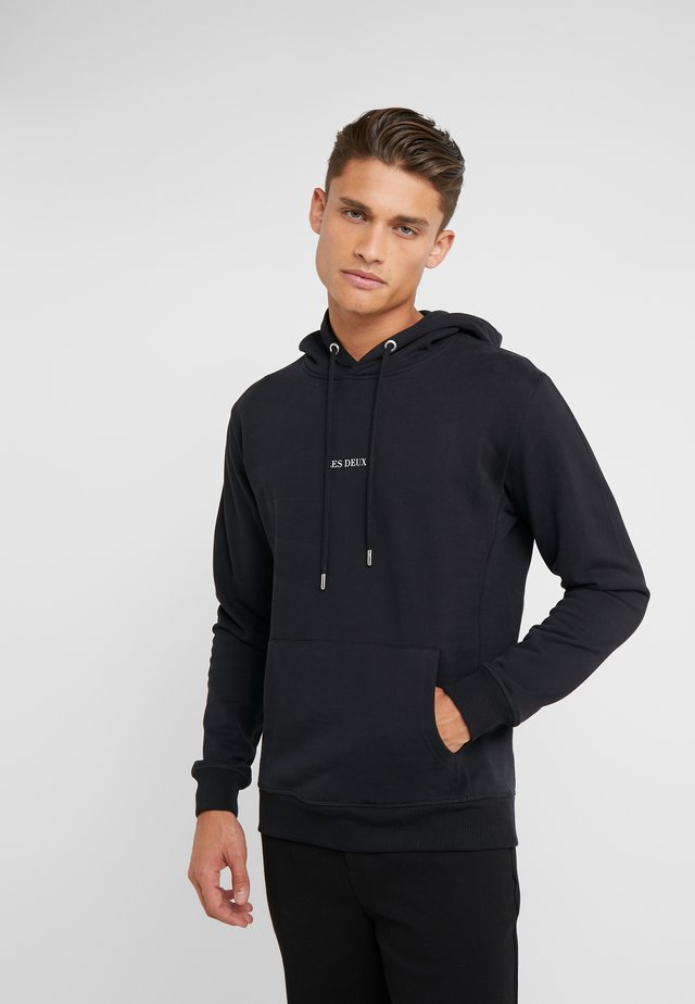LENS HOODIE - Sweat à capuche - black/white