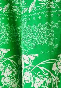 Holzweiler - LUKA PRINT TROUSER - Pantalon classique - green mix - 2