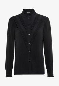 HALLHUBER - Button-down blouse - schwarz - 4