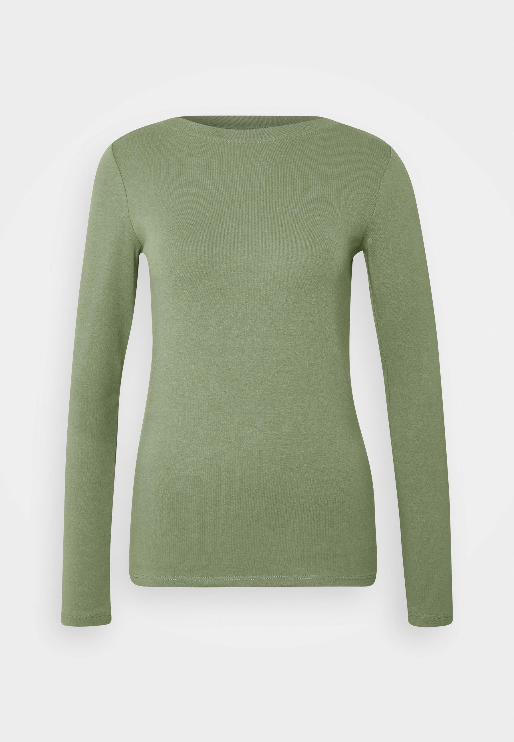 Women BOAT NECK BASIC LONGSLEEVE - Long sleeved top