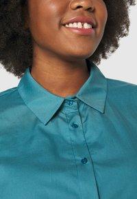 Persona by Marina Rinaldi - BALSA - Button-down blouse - turquoise - 5