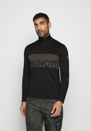 FRANK MENS - Fleecepullover - black